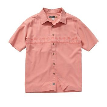 Quiksilver - Men's Tahiti Palms Short Sleeve Shirt