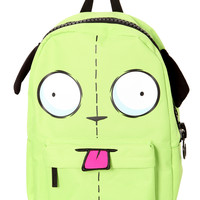 Invader Zim Gir Giant Zip Backpack