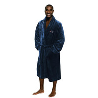 New England Patriots NFL Men's Silk Touch Bath Robe (L-XL)