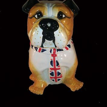 English Bull Dog Cookie Jar