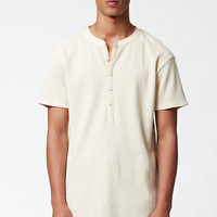 FOG - Fear Of God Waffle Knit Henley T-Shirt at PacSun.com