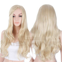 "26"" Women's Synthetic Blonde Wig"