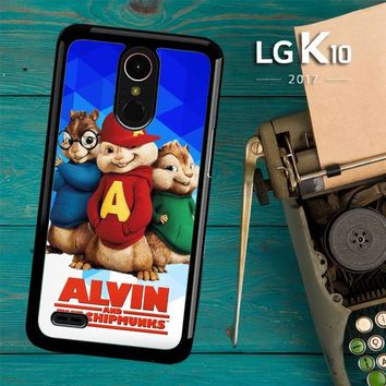 Alvin And The Chipmunks R0317 LG K10 2017 / LG K20 Plus / LG Harmony Case