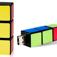 Rubik's Cube Design 8GB USB 2.0 Flash Drive