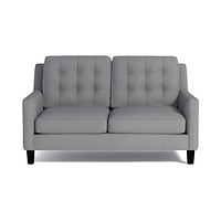 "Elysian Apartment Size Sofa :: Leg Finish: Espresso / Size: Apartment Size - 70""w"