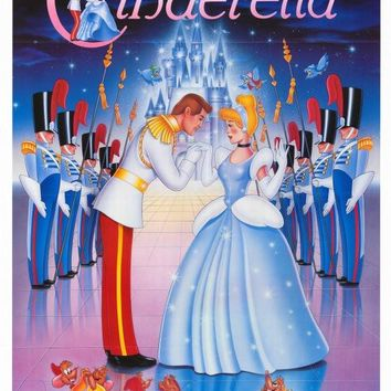 Cinderella 27x40 Movie Poster (1987)