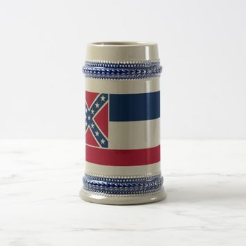Mug with Flag of Mississippi State -USA