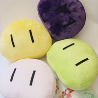 E-busienss Japanese the New Anime Clannad Cosplay of Fashionable Colourful Plush Toy Pillows 22x18x9cm(yellow)