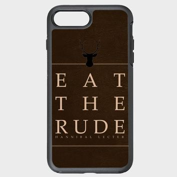 Custom iPhone Case Eat The Rude Hannibal Edd