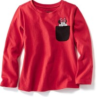 Old Navy Disney Minnie Mouse Pocket Tee For Baby
