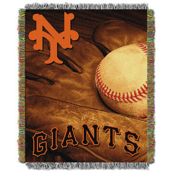 San Francisco Giants MLB Woven Tapestry Throw (Vintage Series) (48x60)