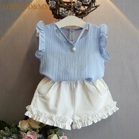 Baby Girl Sleeveless Summer Party Set