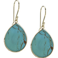 Turquoise Slice Earrings, Small - Ippolita