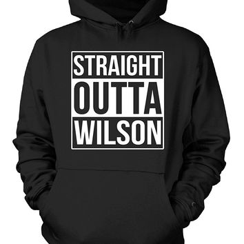 Straight Outta Wilson County. Cool Gift - Hoodie