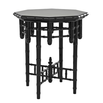 Black Side Table | Eichholtz Octagonal