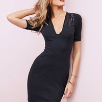 Eyelet-trim Sheath Dress - Victoria's Secret