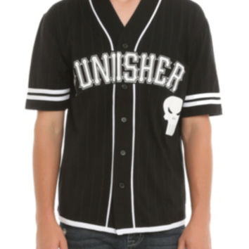 Marvel Punisher Baseball Jersey