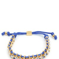 Rhinestone Friendship Bracelet by Juicy Couture, O/S