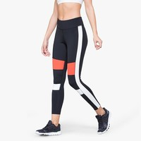 Hot Sale Patchwork Yoga Gym Pants Sports Skinny Pants [11709079366]