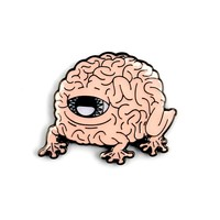 The Minds Matter Brain Pin