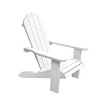 Komfy Kings, Inc 11104 Newco Kids White Wooden Outdoor Chair