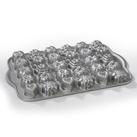 Nordic Ware Nonstick 30-Cup Bundt Tea Cake & Candy Pan (Grey)
