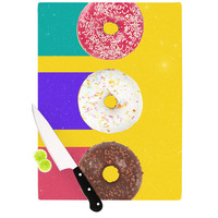 "Danny Ivan ""Donuts"" Cutting Board, 11.5"" x 8.25"" - Outlet Item"