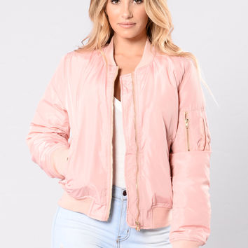Notorious Jacket Pink From Fashion Nova