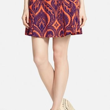 Women's Plenty by Tracy Reese Pleated Print Skirt
