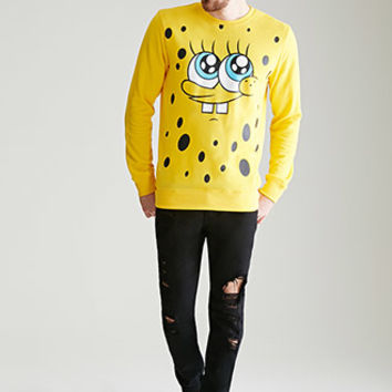 SpongeBob Close-Up Sweatshirt