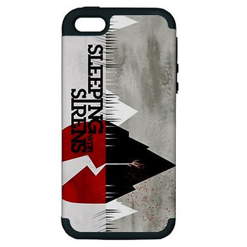 New Sleeping with Sirens iPhone 5 Hardshell Case PC+Silicone