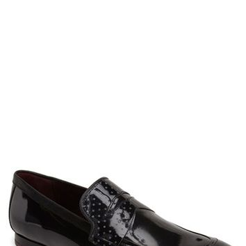 Men's Ted Baker London 'Graaem 2' Patent Leather Penny Loafer