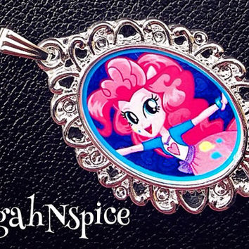 My Little Pony Friendship is Magic Pinkie Pie Equestria Pendant Pinkie Pie Necklace My Little Pony Necklace Friendship is Magic necklace