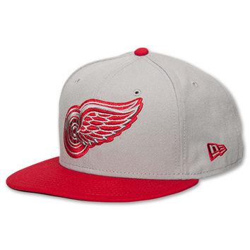 New Era Detroit Red Wings NHL Grey TC Snapback Hat
