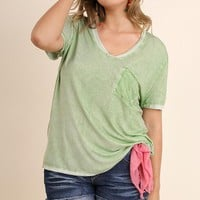 Cool Pocket Top | Green | Plus