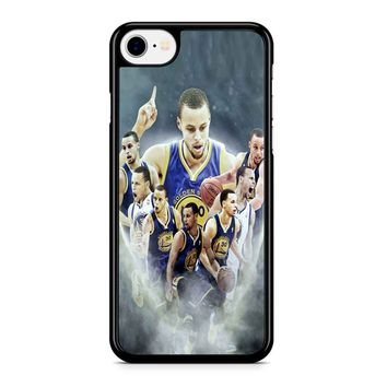 Stephen Curry Race For Mvp iPhone 8 Case
