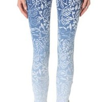 MOTHER The Looker Print Ankle Zip Jeans | SHOPBOP