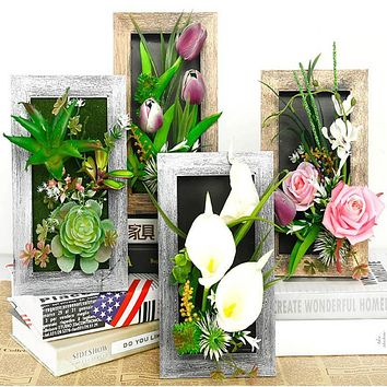 3D Creative Bright Colorful Wall Frames