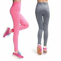 Women  Leggings Fitness Elastic Casual Sport Work Out  Knitted