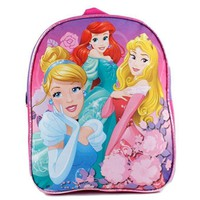 "Disney Princess Girls 11"" School Backpack Bag"