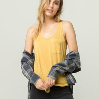 BOZZOLO Womens Pocket Tank