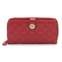 Stone & Co. Quilted Leather Large Wallet