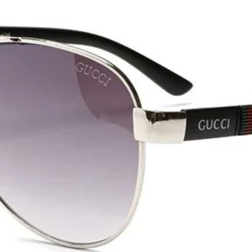 GUCCI 2018 Men's and Women's Fashion Trend Polarized Sunglasses F-ANMYJ-BCYJ NO.2