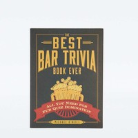 The Best Bar Trivia Book Ever - Urban Outfitters