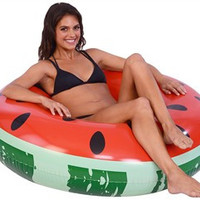 Watermelon Ring Pool Float