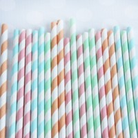 Shop Sweet Lulu - Candy Shoppe Stripey Straw Mix
