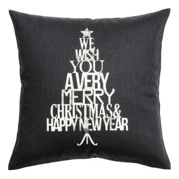 H&M Christmas-print Cushion Cover $5.99
