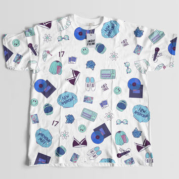 Halsey Mini Print Shirt