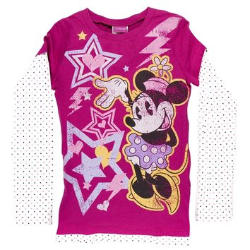 Minnie Mouse - Electro Minnie Girls Youth 2Fer