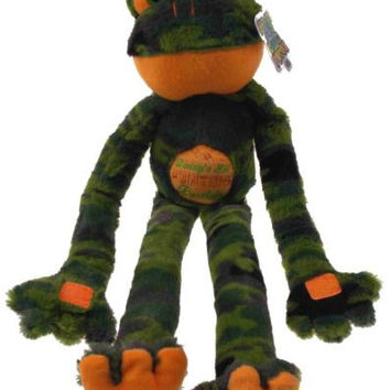 Peace Love Frogs Daddys Lil Hunting Buddy Camo Hanging Plush Embroidered